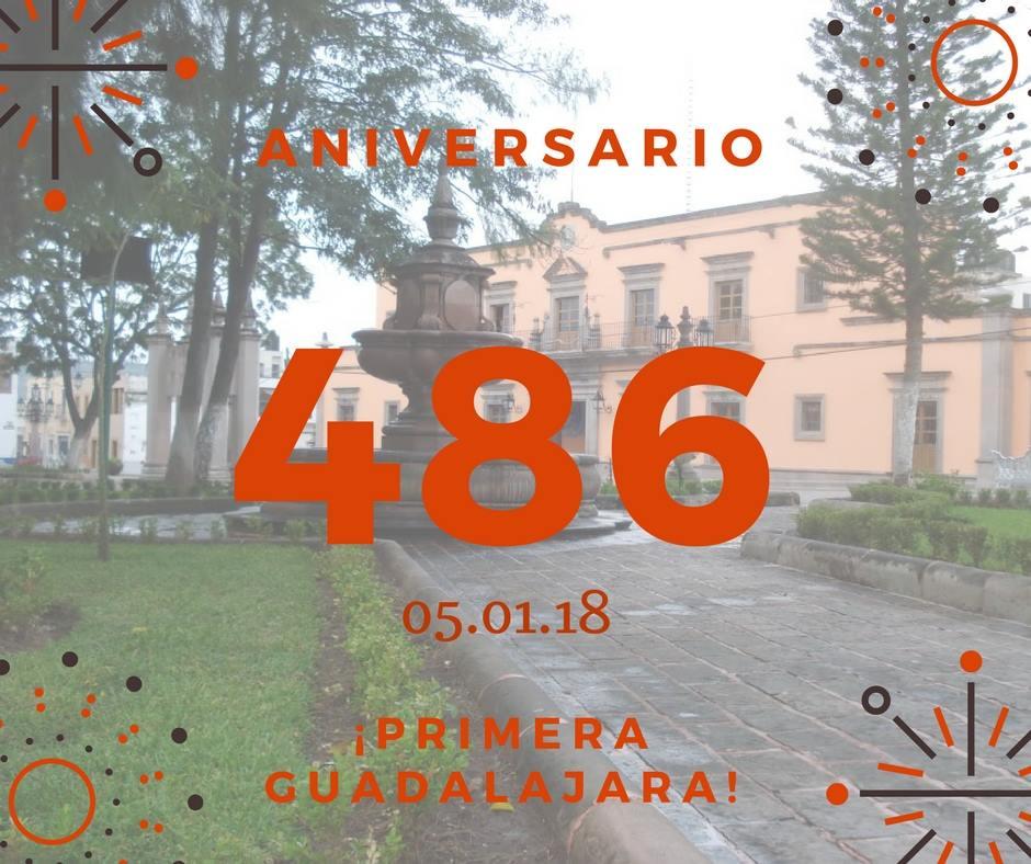 486 Aniversario de La Primera Guadalajara, hoy Nochistlán