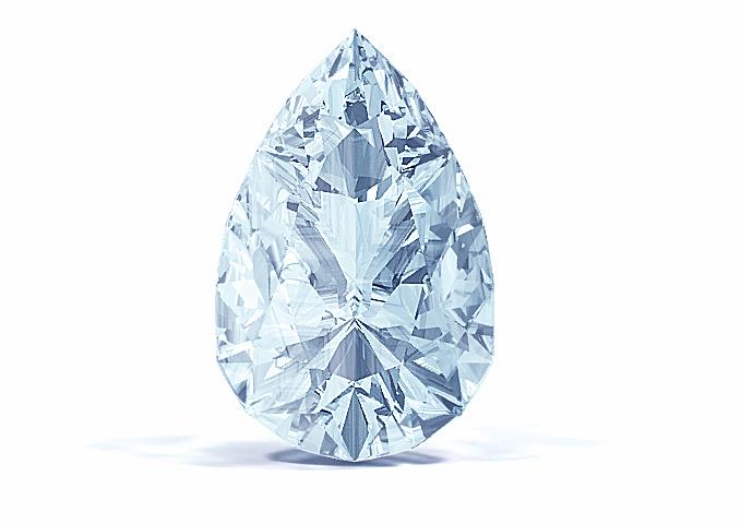 Ice Blue Diamond  Vivial