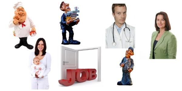 Offerte di lavoro allestero divise per settori lavorativi