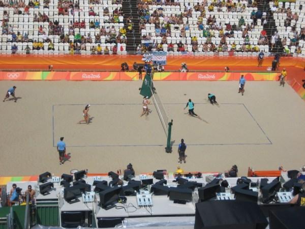 Egypt vs Italy beach volley