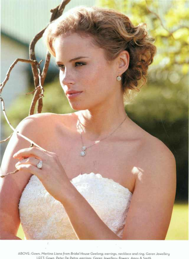 vintage wedding hair -
