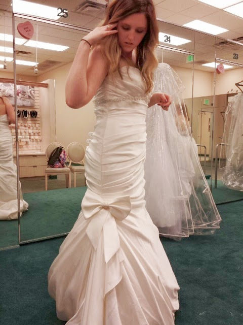 I said yes to the dress!