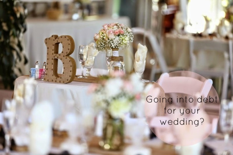 Wedding Wednesday: Wedding Debt?