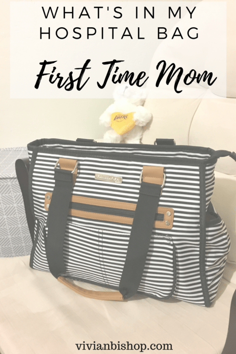 My hospital bag as a first time mom