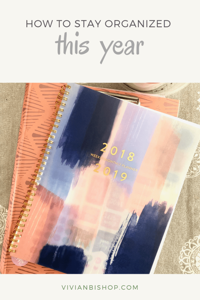 How I Am Staying Organized in 2019