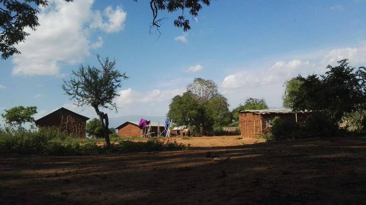 Første dag hos masaiene