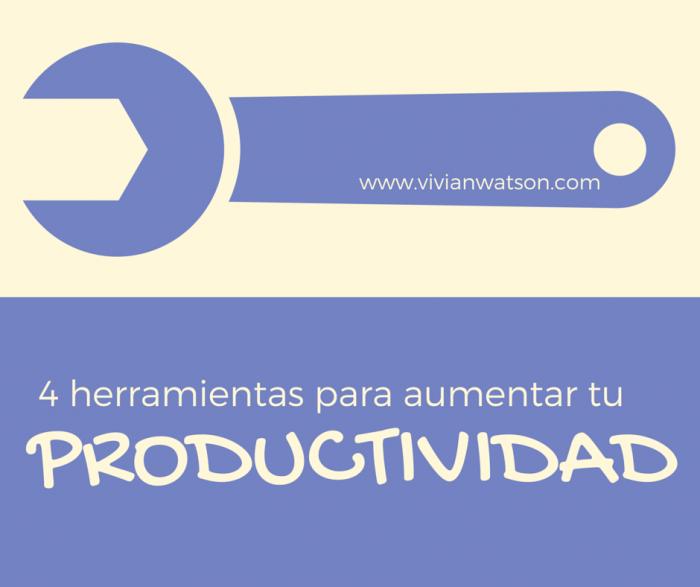 Las 4 mejores herramientas gratuitas para aumentar tu productividad