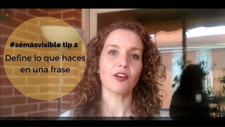 #SéMásVisible Tip 2: Qué decir cuando te preguntan a qué te dedicas