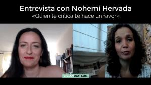 Entrevista a Nohemí Hervada