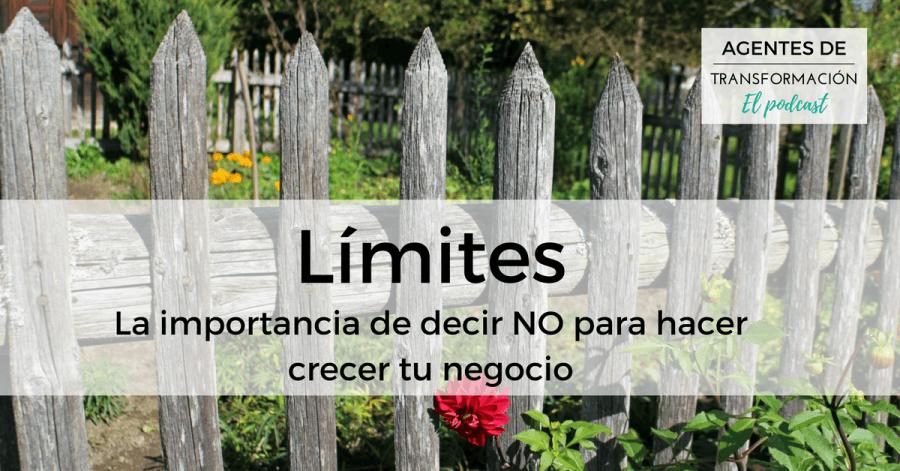 Podcast #15: Los límites: la importancia de decir NO para hacer crecer tu negocio