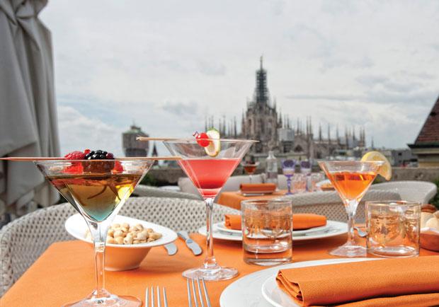 Aperitivo sulle terrazze pi belle di Milano  Viviconstile