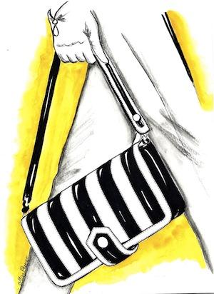 Moda in bianco e nero all'insegna dell'eleganza