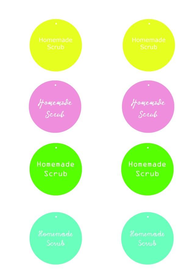 Etichette da stampare per vasetti fatti in casa