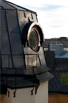 Da sottotetto a loft di stile, nel centro di Stoccolma