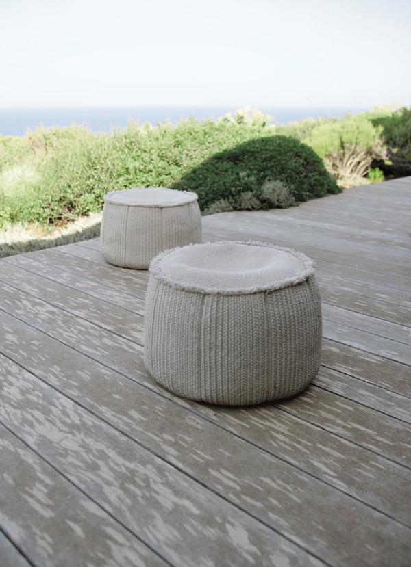 Novit arredo per esterni le sedute di design di paola for Sedute di design