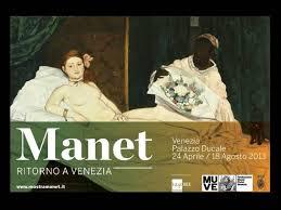 Édouard Manet in mostra a Venezia