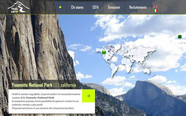 Trail Me Up – lo Street View di parchi e sentieri