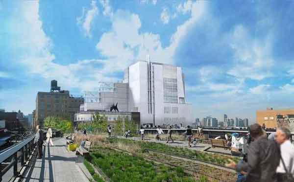 Il nuovo progetto del Whitney Museum of America Art di Renzo Piano
