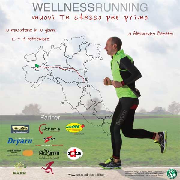 Wellness Running – dieci maratone in dieci giorni attraverso l'Italia
