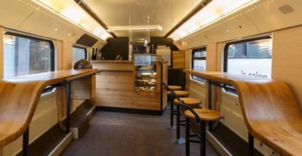 Arriva il primo vagone Starbuck sui treni svizzeri