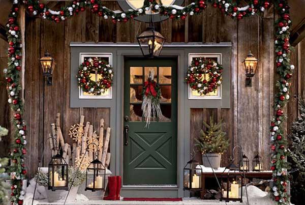 Shabby Chic Natale : Decorazioni di natale shabby chic viviconstile