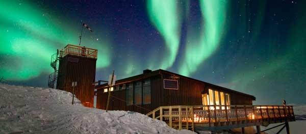 In Lapponia per vedere l'aurora boreale