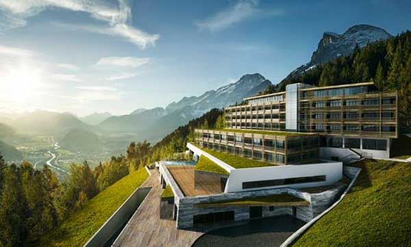 "Il nuovo mountain resort di lusso ""for Friends Hotel"" Mösern Seelfeld in Austria"