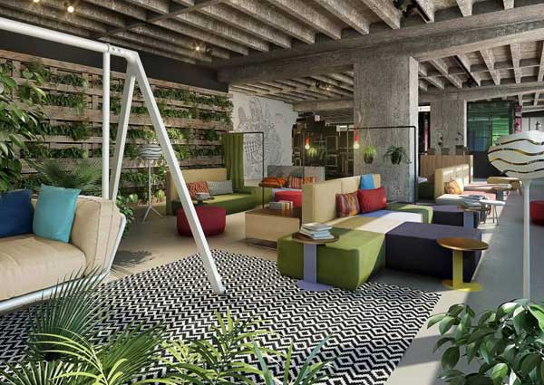 25Hours Hotel Bikini Berlin – stile jungle per il nuovo boutique hotel di Berlino