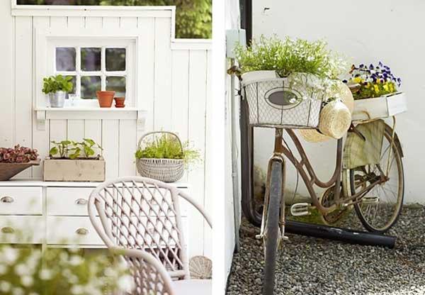 Come arredare il giardino in stile shabby chic viviconstile