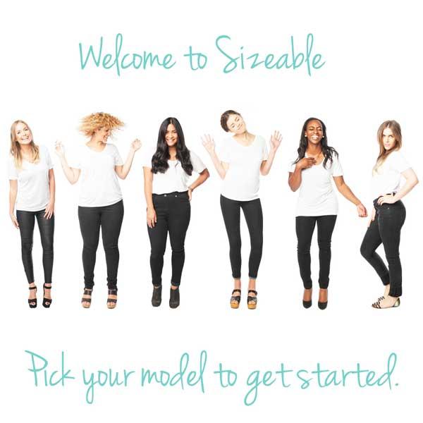 Sizeable – fare shopping on-line in base al proprio fisico