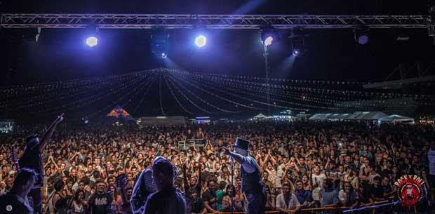 Rock'n'Roll Party Freakish Circus Show di Erchie in Puglia