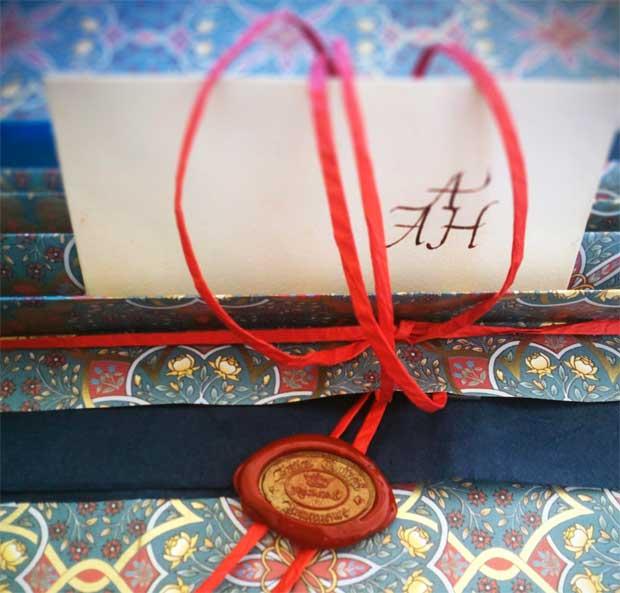 Natale nell'Antica Bottega Amanuense – regali fatti a mano per chi ama la bella scrittura