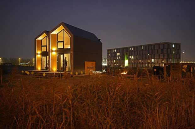 Casa del futuro: piccola, ecologica, mobile
