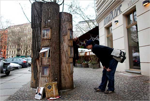 Book Forest – bookcrossing di stile a Berlino