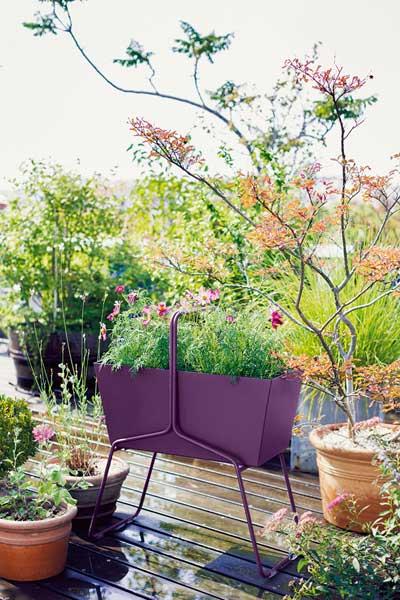 Nuove fioriere di design Basket di Fermob