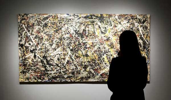 Alchimia di Jackson Pollock in mostra alla Collezione Peggy Guggenheim di Venezia