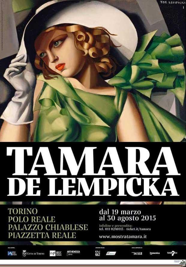 Tamara de Lempicka in mostra a Palazzo Chiablese di Torino