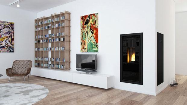 Stufe a pellet, il giusto design per riscaldare la casa con stile ...