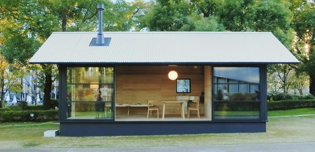 Muji Hut: le mini case prefabbricate (di stile) firmate Muji