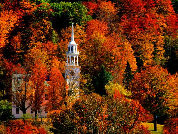Fall foliage in New England – la magia dei colori autunnali