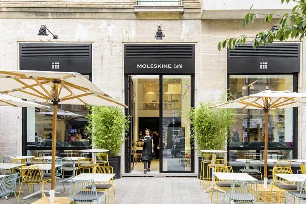 Moleskine Cafè: caffè letterario nel cuore del Brera Design District