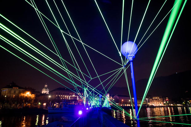 Magie di luce a Como per 8208 Lighting Design Festival