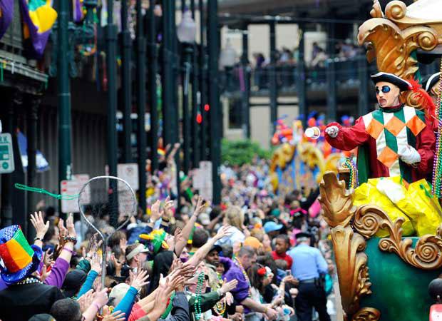Mardi Gras 2018, il Carnevale di New Orleans