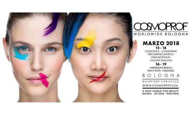 Cosmoprof 2018 – il mondo del beauty si incontra a Bologna
