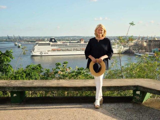 Martha Stewart e MSC, la partnership nata tra l'influencer e la compagnia di crociera per viaggiare nei Caraibi