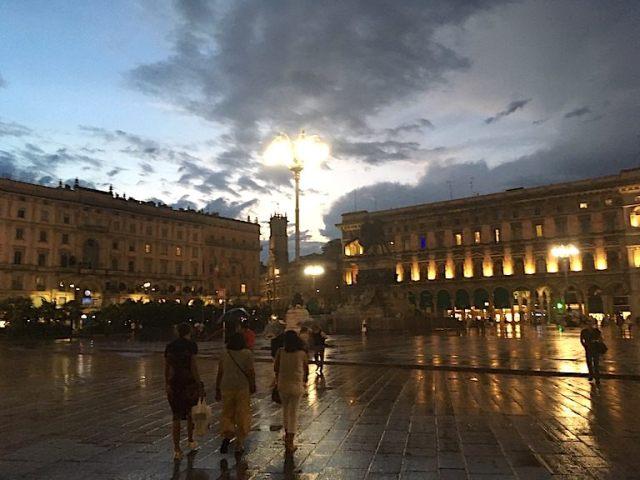 Milano dopo il temporale