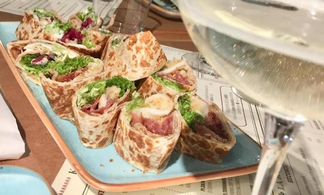 La piadina di pesce gourmet conquista Milano