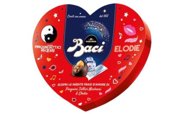 Elodie e Pinguini Tattici Nucleari firmano i Baci Perugina di San Valentino 2021