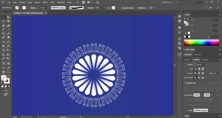 Draw new shape for Mandala