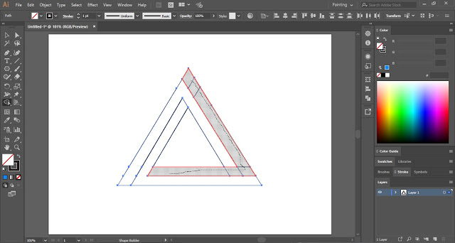 Use Shape Builder Tool